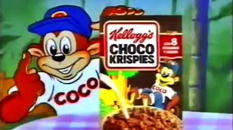1994 Choco Krispies de Kelloggs, desayuno bombón - Publicidad España Anuncio Comercial