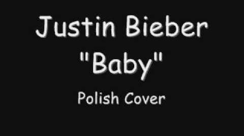 POLISH COVER Justin Bieber - Baby