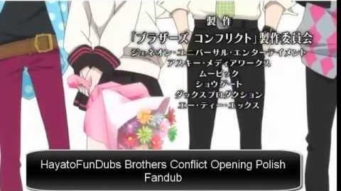 Brothers Conflict Opening Polish Fandub