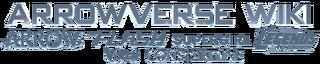 Arrowverse wiki logo plus heroes HvA-style