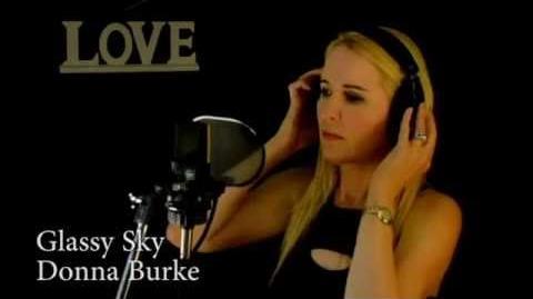 Glassy Sky - Donna Burke (Full Version Original with Lyrics)
