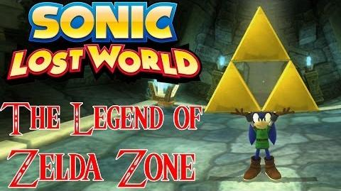 Sonic mission Quest for the triforce!