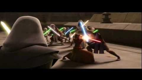 Anakin Skywalker vs Barriss Offee