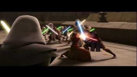 Anakin Skywalker vs Barriss Offee