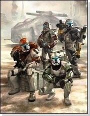 Delta Squad (Star Wars Republic Commando) artwork