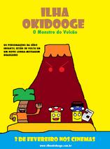Ilha Okidooge o monstro do vulcão