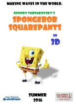 Genndy Tartavosky's SpongeBob Squarepants teaser poster