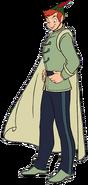 Peter Pan as Naveen