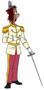 Gideon as Prince Charming