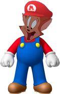 Danny as Mario