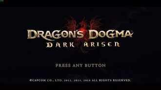 "Dragons Dogma Dark Arisen - ""Tutorial Character Creation"""