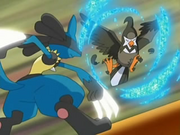 Lucario Metal Claw