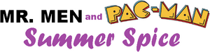Mr. Men and Pac-Man Summer Spice logo