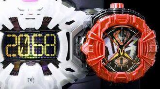 「赤いDXビビルライドウォッチ!」仮面ライダージオウ 画像加工【仮面ライダーゲイツ ビビルアーマー赤】 Kamen Rider Zi-O Geiz Bibiru Armor Red