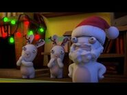 Reindeer Rabbids and Rabbid Santa