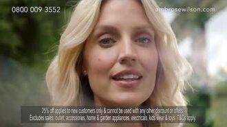 Ambrose Wilson Autumn TV Ad 2019