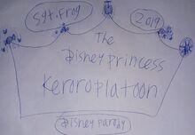 2019 Disney Princess Keroro Platoon