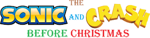 The Sonic and Crash Before Christmas logo