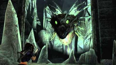 Tomb Raider Legend - Sea Serpent Vore (Legend, Blue)