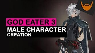 God Eater 3 - Male Character Creation