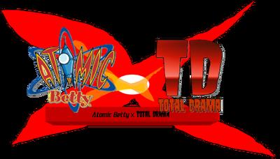 Atomic Betty X Total Drama Logo