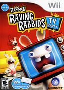Wii rayman raving rabbids tv party p j68m69
