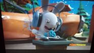 Gray Headphone Rabbid