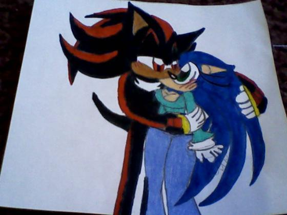 image shadow and female sonic kiss by princessshannon07 jpg fan