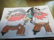 Mario rabbids the captain and rabbid captain by ezio1 3 dcer8sk-pre