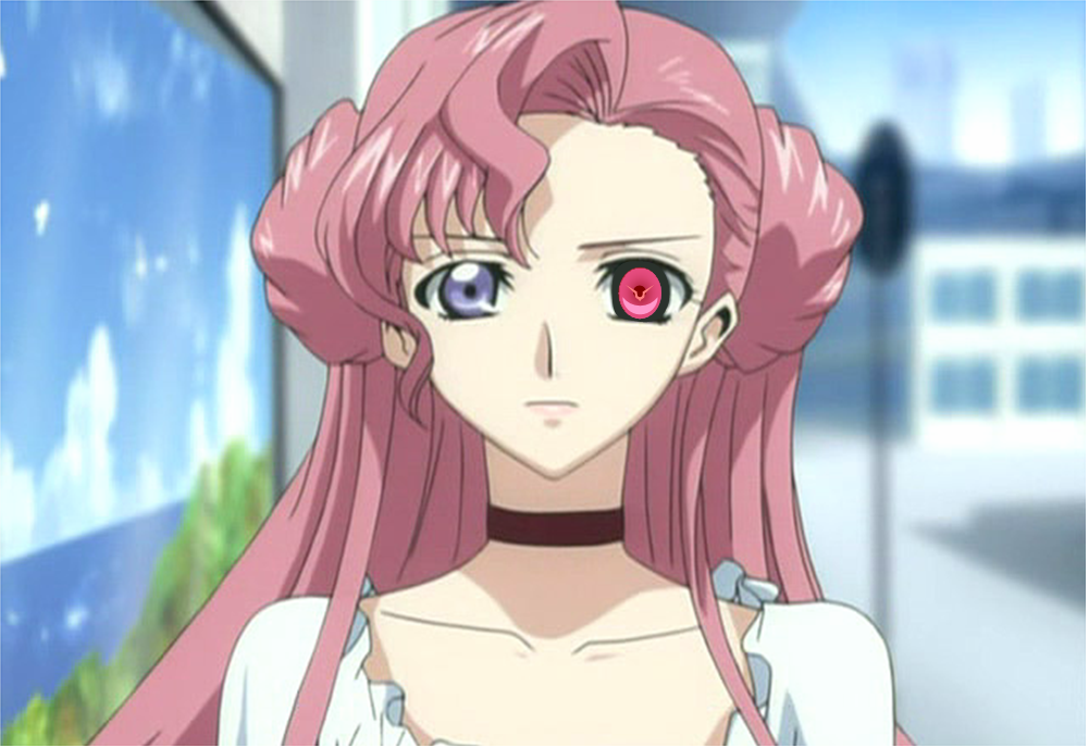 Euphemia Li Britannia The Protagonist And Anti Heroine Of Code Geass Battalion With Her Activated
