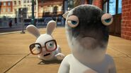 Nerdy Rabbid and Rabbid