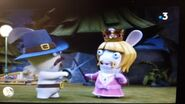 Princess Mustache Rabbid