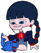 Ballistic Adorabeezle without her Blue Visor 92
