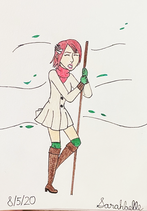 Princess Elise in Winter Clothing 3