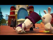Magician Rabbid and Rabbid