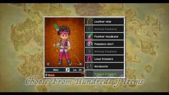 Dragon Quest IX Character Creation Trailer