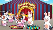 Rabbids with Le Grand Cirque