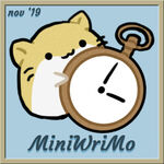 Wrimo 19 mini badge