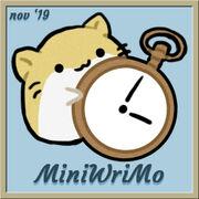 Wrimo 19 mini badge