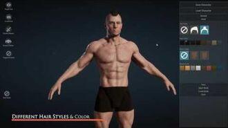 UE4 Character Creator - Create custom character in Unreal Engine 4