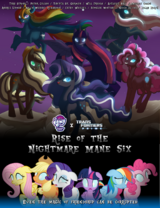 My Little Pony: Rise of the Nightmare Mane Six