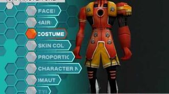 PSO Character Creation