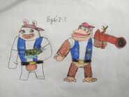 Mario rabbids chunky kong and rabbid chunky by ezio1 3 dch83kv-pre