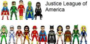 Justice league of america title sequence