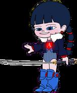 Ballistic Adorabeezle without her Blue Visor 88