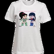 Ballistic Vanellope and Adorabeezle T-Shirt Design (Front)