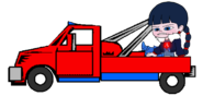 Adorabeezle in a Tow Truck 2