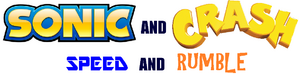 Sonic and Crash Speed and Rumble logo
