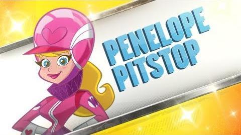 Boomerang Official Best Cartoon Bracket Penelope Pitstop VOTE NOW