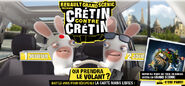 Renault Scenic Lapins Cretins